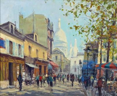 Jean Salabet Montmatre by Jean Salabet