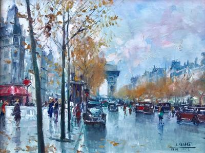 Jean Salabet View of Arc de Triomphe
