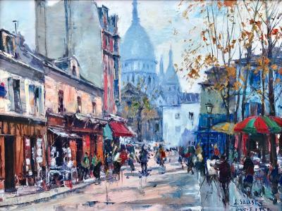 Jean Salabet View of Sacre Coeur