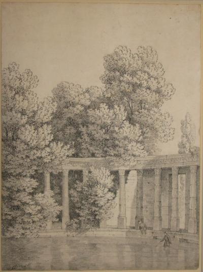 Jean Victor Bertin Hadrians Villa at Tivoli