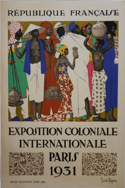 Jean de la Meziere International Colonial Exhibition of Paris by Jean de la Meziere