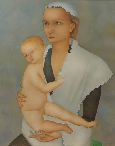 Jean martin Roch 1905 1991 Oil On Canvas Signed