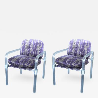 Jeff Messerschmidt Pipe Line Series ii Chairs in Molded Lucite by Jeff Messerschmidt