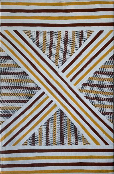 Jeffery Walkundjawuy An Australian Aboriginal Painting from Elcho Island