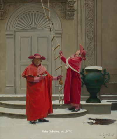 Jehan Georges Vibert Convicting Proofs