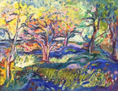 Jehudith Sobel A Woodstock Landscape