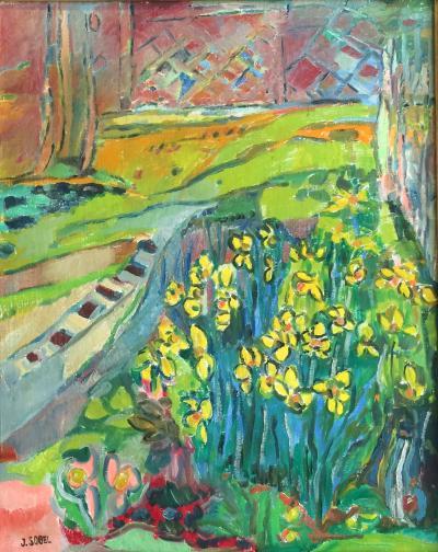 Jehudith Sobel Irises