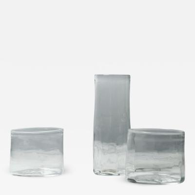 Jennie Olofsson Furillen Glassware by Glasstudion Big Pink