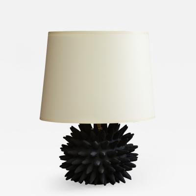 Jennifer Nocon Black Sea Urchin Lamp