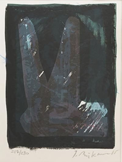 Jens Birkemose Lithograph