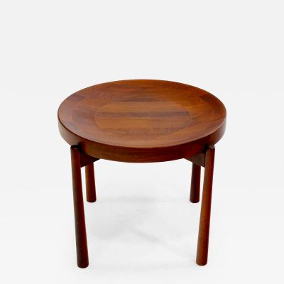 Jens Quistgaard Danish Modern Solid Staved Teak Tray Table Designed by Jens Quistgaard