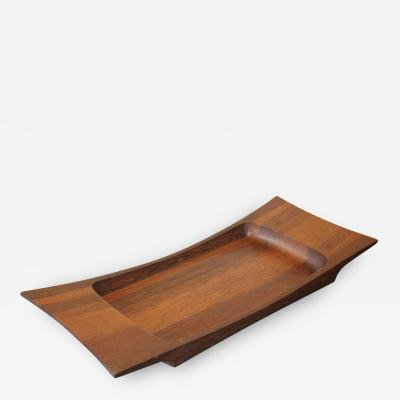 Jens Quistgaard Jens Quistgaard Tray for Dansk Tray is from the Rare Woods Collection