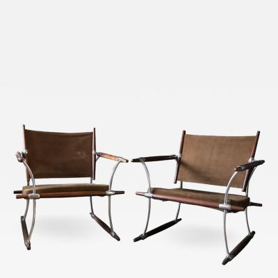 Jens Quistgaard Pair of Stokke Chairs by Jens Quistgaard for Nissen