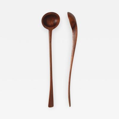 Jens Quistgaard Teak Serving Spoons