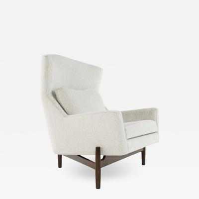 Jens Risom Big Chair by Jens Risom in Chenille