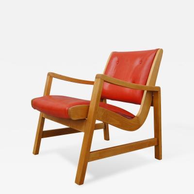 Jens Risom Birch Armchair by Jens Risom for Knoll