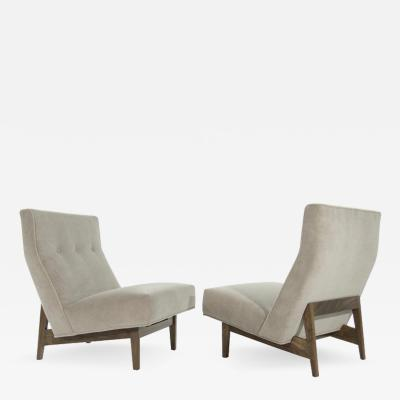 Jens Risom Classic Slipper Chairs by Jens Risom circa 1950s