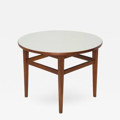 Jens Risom Jens Risom Attributed Mid Century Modern Round Side Table