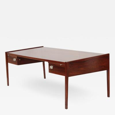 Jens Risom Jens Risom Modernist Executive Rosewood Desk
