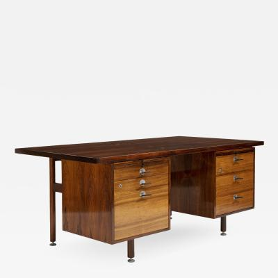 Jens Risom Jens Risom Rosewood Desk Denmark 1960s