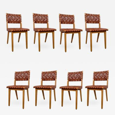 Jens Risom Jens Risom Set of Eight Chairs