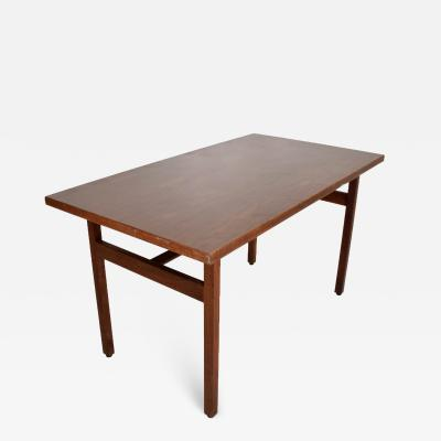 Jens Risom Jens Risom Walnut Table Desk Midcentury Period