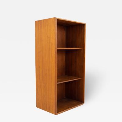 Jens Risom Mid Century Walnut Bookcase Shelving