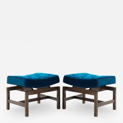 Jens Risom Pair of Footstools by Jens Risom 1950s