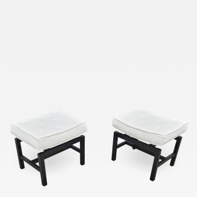 Jens Risom Pair of Footstools by Jens Risom