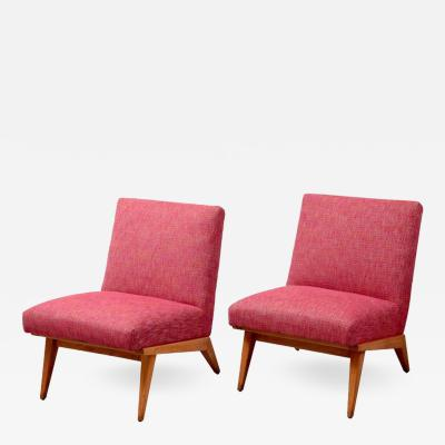 Jens Risom Pair of Jens Risom 21 Chair 1940s USA for Knoll Associates