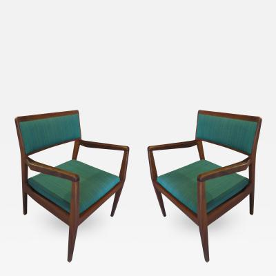 Jens Risom Pair of Jens Risom Playboy Chairs