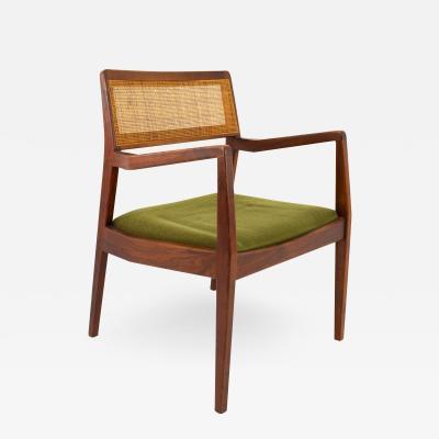Jens Risom Playboy Mid Century Cane Back Chair