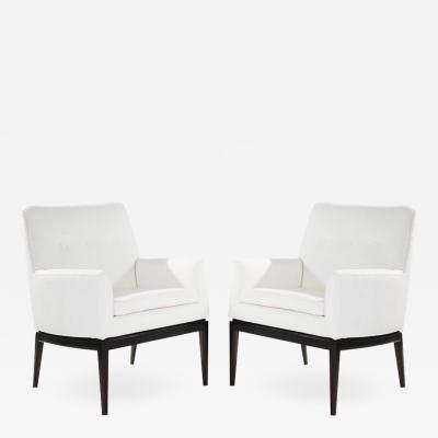 Jens Risom Set of Lounge Chairs by Jens Risom 1950s