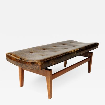 Jens Risom Upholstered Bench