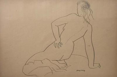 Jerry O Day Jerry ODay Nude Drawing 3