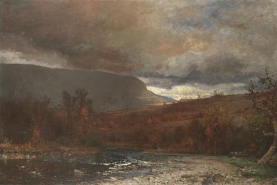 Jervis McEntee Catskill Twilight