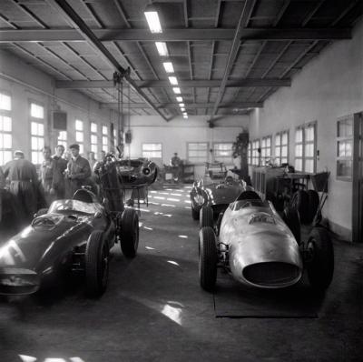 Jesse Alexander Ferrari Factory Maranello Italy 1958