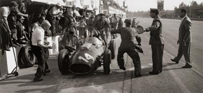 Jesse Alexander Ferrari Pit Stop Monza Italy