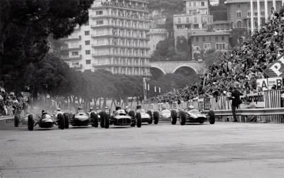 Jesse Alexander Grand Prix of Monaco Start