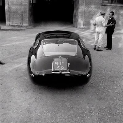 Jesse Alexander Maserati 4 5 Coupe Prototype at Modena 1957