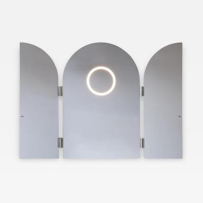 Jesse Visser Monumental Triptychs Enlighted Mirror Jesse Visser