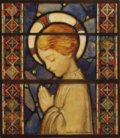 Jessie Willcox Smith Child Praying