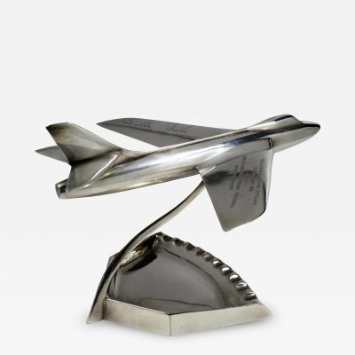 Jet Airplane Neville Duke World Speed Trophy