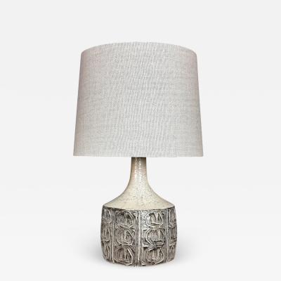 Jette Heller e Glazed Ceramic Table Lamp 1964