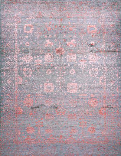 Jeziorak in Pink NOV24 Studio for Zollanvari Super Fine Gabbeh Wool Silk