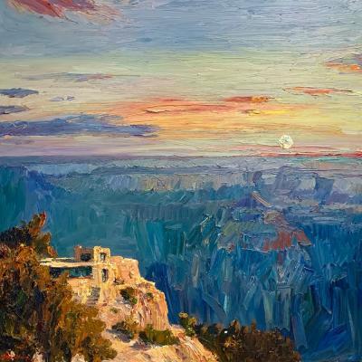 Jian Wang Twilight Grand Canyon