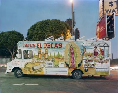 Jim Dow Tacos El Pecas Boyle Heights Los Angeles California 2008