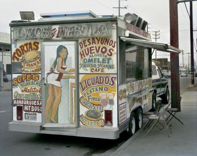 Jim Dow Tacos Jessica Taco Truck East Los Angeles California