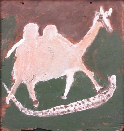 Jimmy Lee Sudduth Camel and Snake