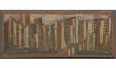 Jimmy Lee Sudduth Untitled City c 1987